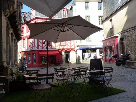 extérieur restaurant vannes L'EntreChoc