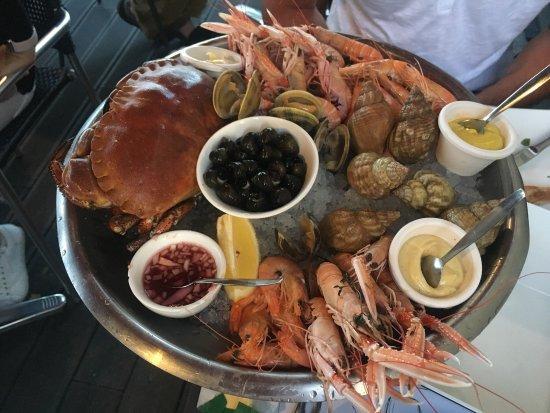 restaurant fruits de mer vannes L'Atlantique