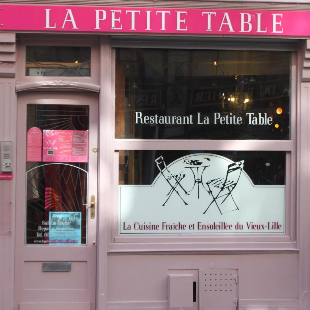 la petite table restaurant brasserie lille. Black Bedroom Furniture Sets. Home Design Ideas