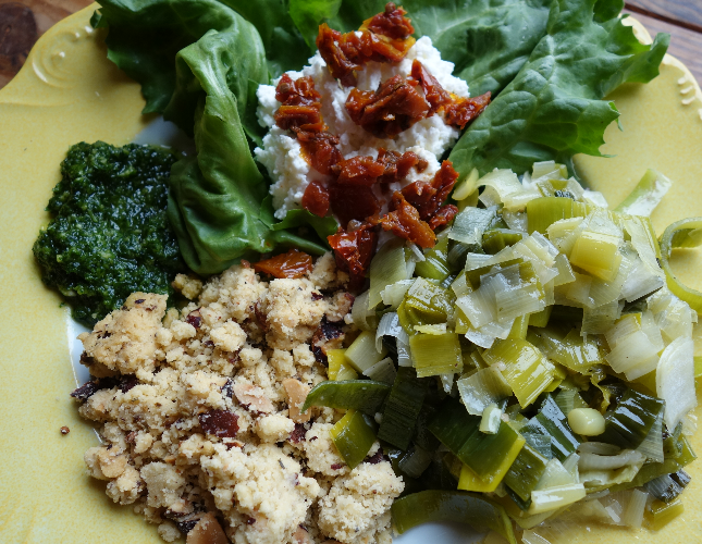 crumble de légumes