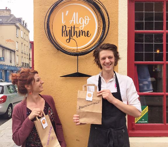 restaurant L'Algorythme Rennes restaurant Labonapp Réservation solidaire Clique et Rapplique