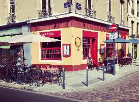 Terrasse en plein coeur de Rennes