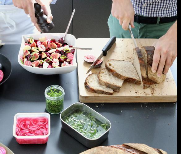 Cuisine de saison, produits locaux, frais et gourmands
