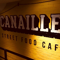 street food art canaille fresque coffeshop