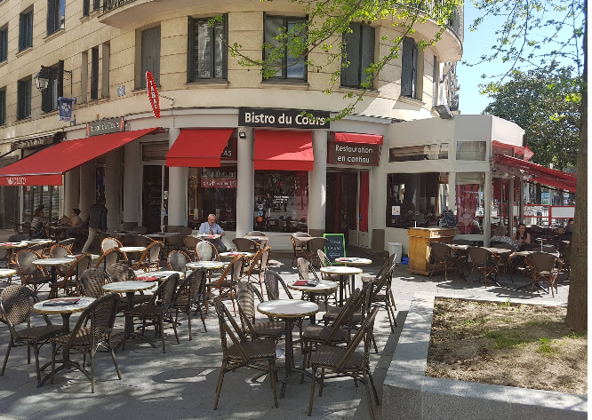 restaurant rue Nantes Bistrot devanture