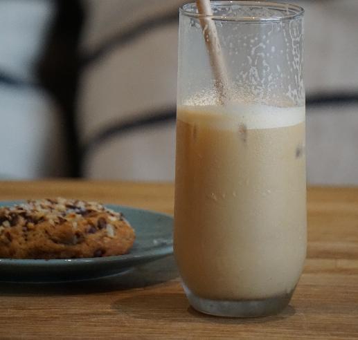 Latte frappé