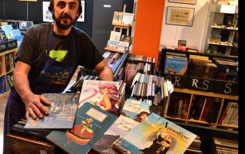 Au jardin des bulles spécialiste BD librairie à Vannes LaBonApp