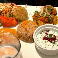 assiette indienne repas pakistanais menu midi nantes