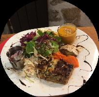 repas Vegetarien Oriental variee