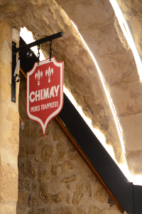 architecture retro a l interieur sous-sol taverne