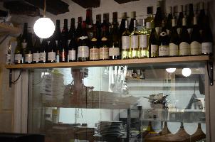 a l interieur cuisine vins