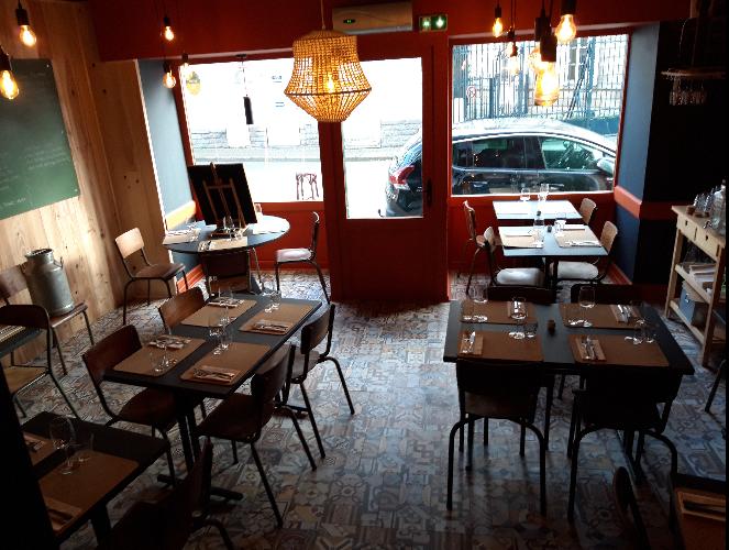salle restaurant l'Ardoise à Vannes sur Labonapp