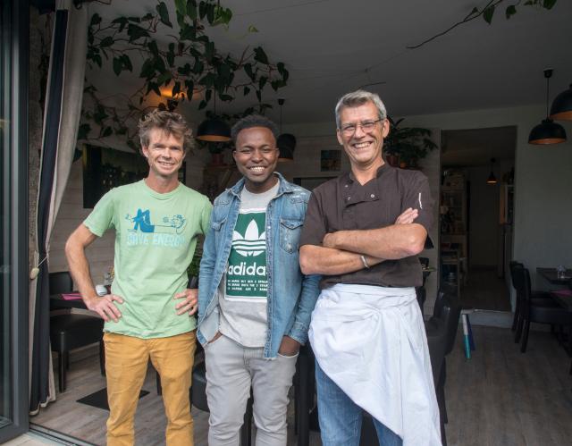 equipe de l'îlot galette Vannes restaurant Labonapp