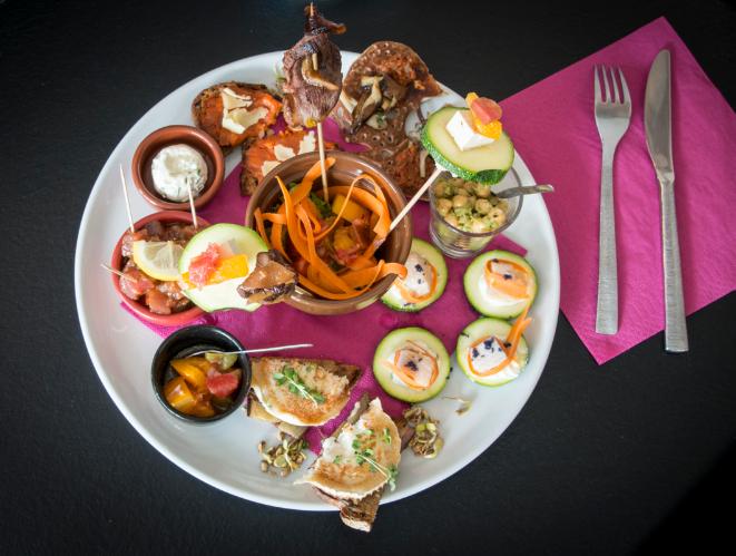 le tapas royal à partager restaurant Labonapp l'ilot galette