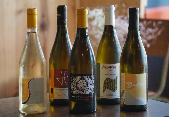 Nos vins blancs bio/nature et HVE