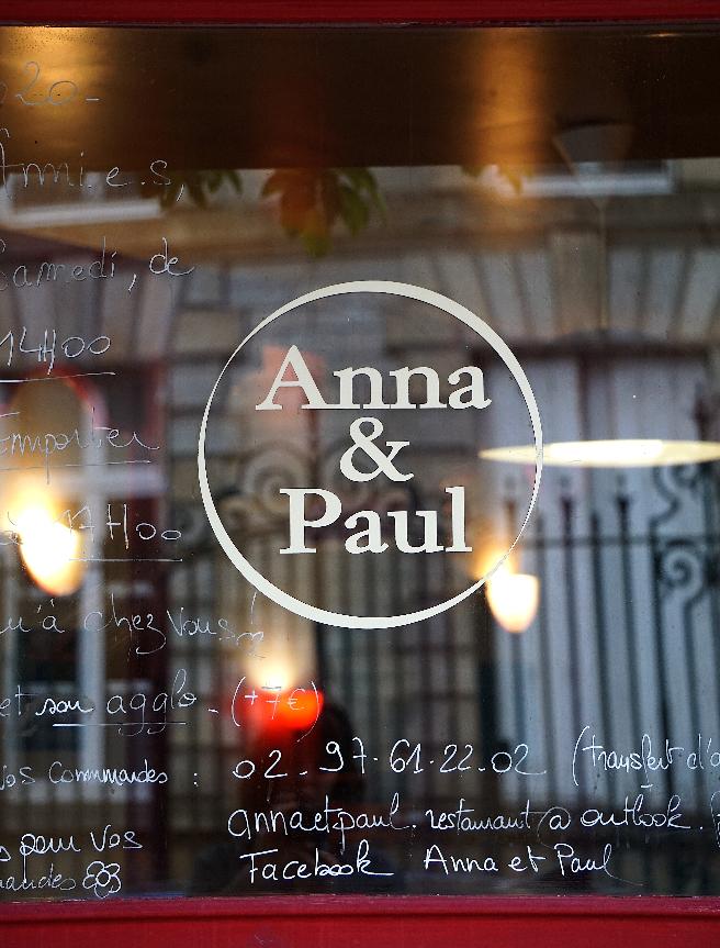 Anna et PAul, restaurant à vannes Solidaire Labonapp
