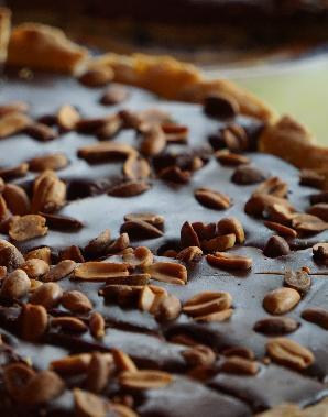 Tarte Chocolat Cacahuètes