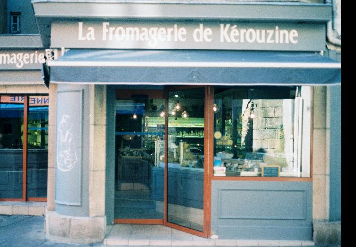 devanture fromagerie kerouzine vannes Labonapp