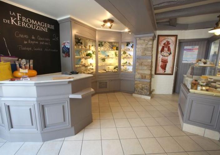boutique vannes centre kerouzine fromage