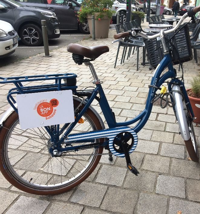 vélo électrique à louer Vannes L'ilot galette creperie