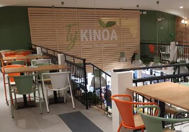salle de restauration du Ty Kinoa Vannes